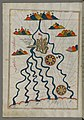 Piri Reis - Map of the City of Ferrara with the Six Rivers Flowing into the Gulf of Venice - Walters W658187A - Full Page.jpg