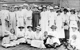 Pitcairn Islands - Pitcairn Islanders, 1916