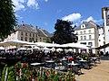 Place Anne Grommerch de Thionville un samedi de juin 2019.JPG