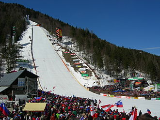 Planica - During a World Cup competition