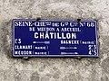 Plaque Cocher Rue Bagneux - Châtillon (FR92) - 2021-01-03 - 1.jpg