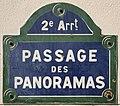 Plaque Passage Panoramas - Paris II (FR75) - 2021-06-14 - 1.jpg