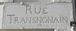 Image illustrative de l'article Rue Transnonain