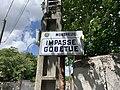 Plaque impasse Gobetue Montreuil Seine St Denis 2.jpg