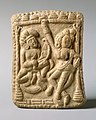 Plaque with a Dancer and a Vina Player 1st century B.C.jpg
