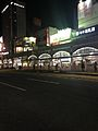 Platform of Tenmonkandori Station.jpg