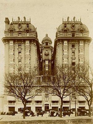 Alfred Zucker - Hotel Plaza, Buenos Aires (1905-09)