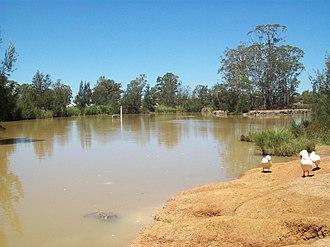 Plumpton, New South Wales - Small lake in Plumpton Park