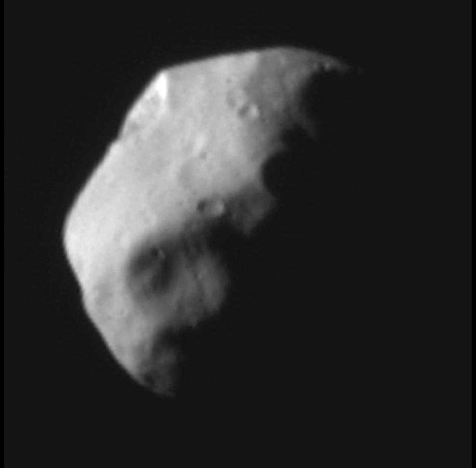 Pluto%27s Moon Nix, Half Illuminated