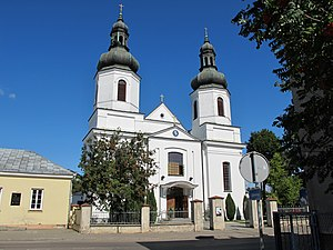 Bielsk Podlaski - Roman Catholic Church on Adam Mickiewicz Street