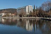 Poertschach Johannes-Brahms-Promenade mit Parkhotel 15122016 5725.jpg