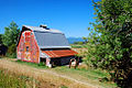 Point Adams Road Barn (Columbia County, Oregon scenic images) (colDA0044a).jpg