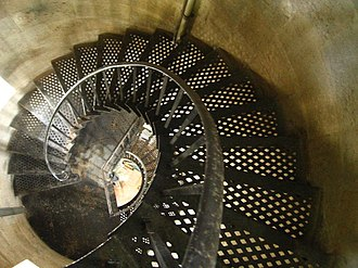 Point Stephens Light - The spiral stairway