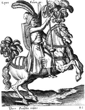 Abraham de Bruyn - Sixteenth-century Polish trooper