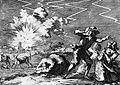 Polvertoren van Rijnberk vliegt de lucht in - Explosion Pulverturm Rheinberg (1698)-CN.jpg