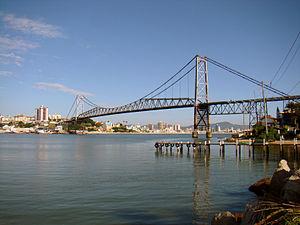 Hercilio Luz Bridge - Image: Ponte Hercílio Luz Florianopolis