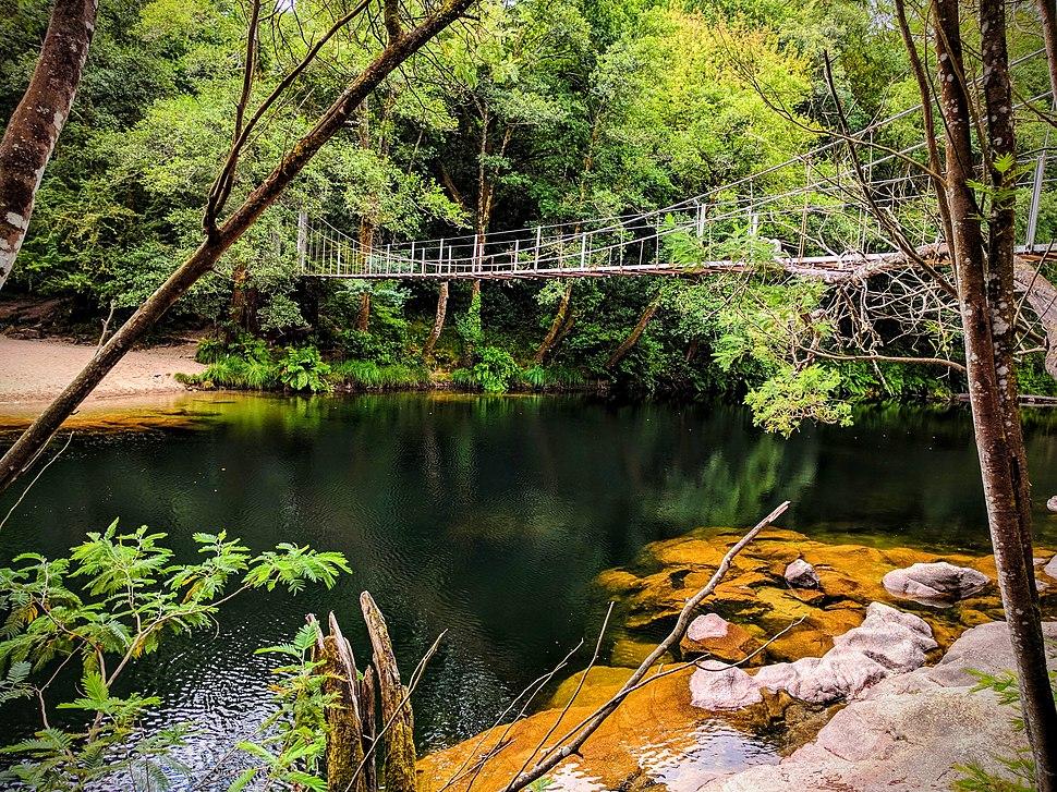 Ponte colgante Soutomaior