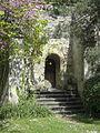 Pontoise (95), musée Tavet-Delacour, casemattes dans le jardin 3.jpg