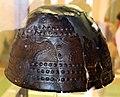 Populonia, necropoli di poggio del molino o del telegrafo, elmo a calotta con decoro a sbalzo, IX-VIII secolo ac. 02.JPG
