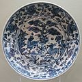 Porcelain dish from China, late 15th to early 16th century, Lowe Art Museum.JPG
