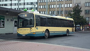 Pori - Public transportation bus