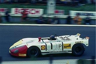 Gérard Larrousse - Gérard Larrousse driving a Porsche 908/2 at the Nürburgring in 1970