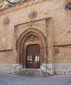Portada de la plaça de l'Herba - cocatedral de santa Maria de Castelló.JPG