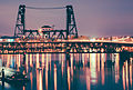 Portland Steel Bridge at Night (18765562713).jpg