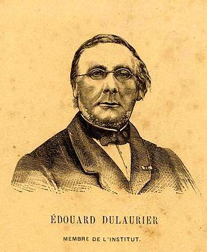 Édouard Dulaurier - Image: Portrait édouard dulaurier