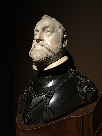 Rudolf II, Holy Roman Emperor - A portrait bust of Rudolf II in the collection of the Antwerp City Hall, Belgium