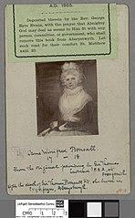 Dame Winifred Bonsall