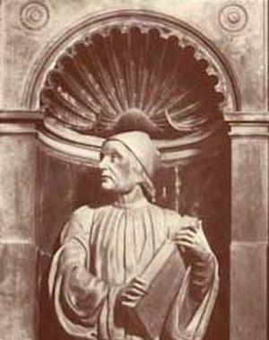 Andrea Ferrucci - Bust of Marsilio Ficino by Andrea Ferrucci, in the Duomo of Florence