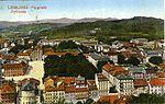 Postcard of Ljubljana from Ljubljana Castle 1922.jpg