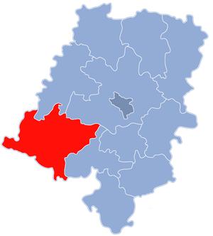 Nysa County - Image: Powiat nyski