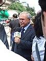 Praha, Nové Město, reportér polské televize k událostem 21. srpna.jpg