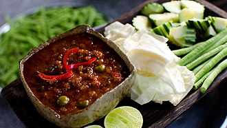 Cambodian cuisine - Prahok ktis