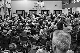 Iowa caucuses - Democratic precinct 61, 2016