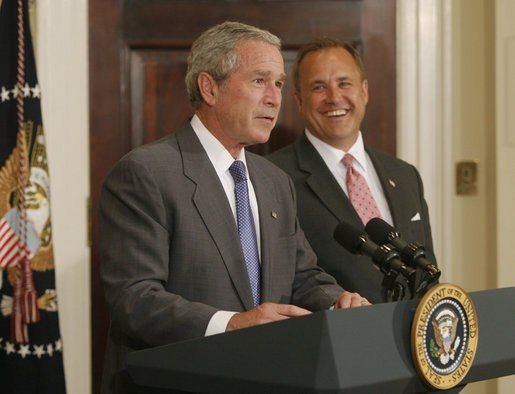 President George W. Bush Nominates Congressman Jim Nussle as Director of the Office of Management and Budget