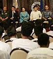 President Gloria Macapagal-Arroyo's attendance at the Social Integration Program (SIP), Monday (January 23, 2009).jpg