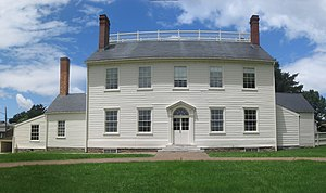 National Historic Chemical Landmarks - The Joseph Priestley House in Northumberland, Pennsylvania.