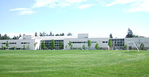 School District 36 Surrey - Image: Princess Margaret Secondary (on 72 Avenue)