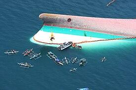 Farja med 250 ombord sjonk i filippinerna