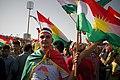 Pro-Kurdistan referendum and pro-Kurdistan independence rally at Franso Hariri Stadiu, Erbil, Kurdistan Region of Iraq 18.jpg