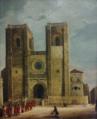 Procissão na Sé de Lisboa, século XIX (Museu de Lisboa).png