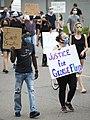 Protest against police violence - Justice for George Floyd (49942164647).jpg