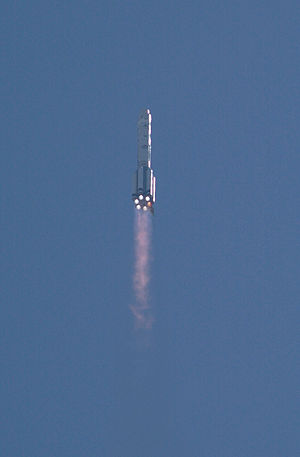 Zvezda (ISS module) - Zvezda heads into orbit aboard a Proton rocket on July 12, 2000