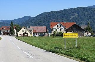 Pšenična Polica Place in Upper Carniola, Slovenia