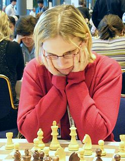 Lenka Ptáčníková Czech-born Icelandic chess player