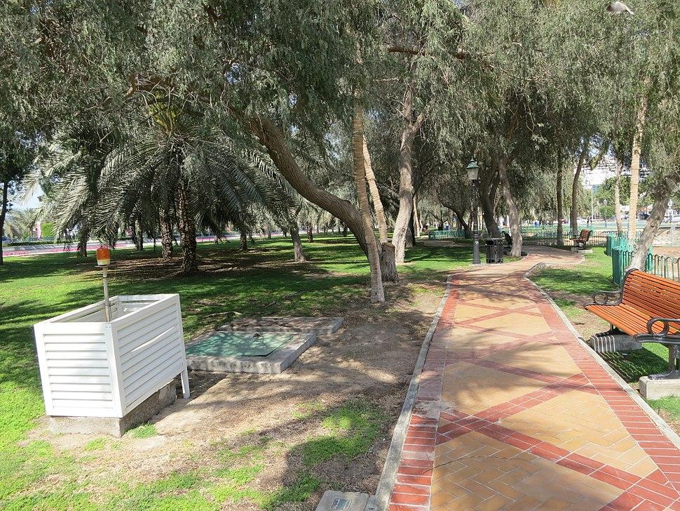 Public park in Abu Dhabi