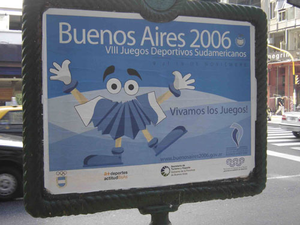 2006 South American Games - Bandoneonito, mascot of the 2006 South American Games.
